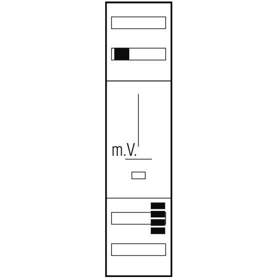 ABN Standard Zählerplatz Z17P309N