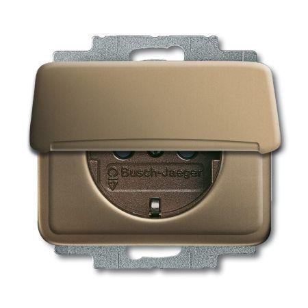 busch jaeger schuko steckdosen einsatz 20 euk 21 nr 2cka002018a0703 online einkaufen im ens. Black Bedroom Furniture Sets. Home Design Ideas