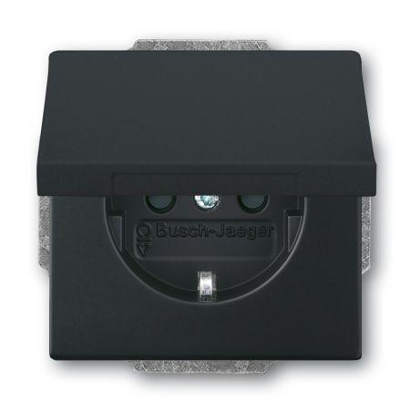 busch jaeger schuko steckdosen einsatz 20 euk 885 nr 2cka002018a1495 online kaufen im ens. Black Bedroom Furniture Sets. Home Design Ideas