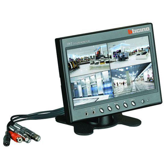bticino monitor 391419 online kaufen im ens elektronetshop. Black Bedroom Furniture Sets. Home Design Ideas