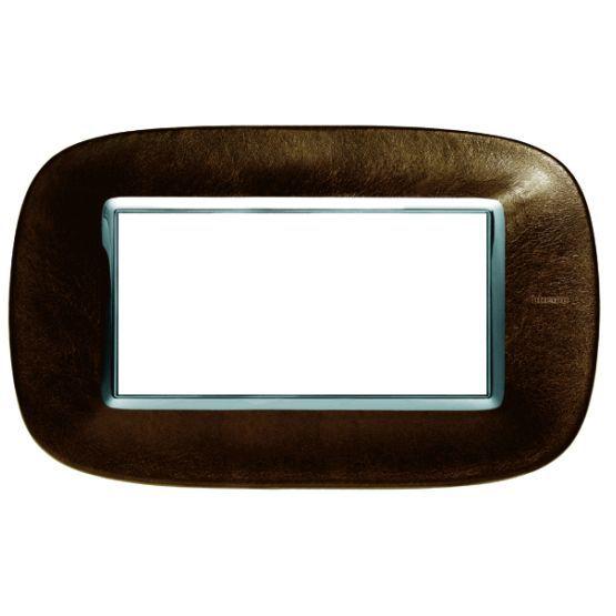 bticino rahmen hb4804sls online bestellen im ens elektronetshop. Black Bedroom Furniture Sets. Home Design Ideas