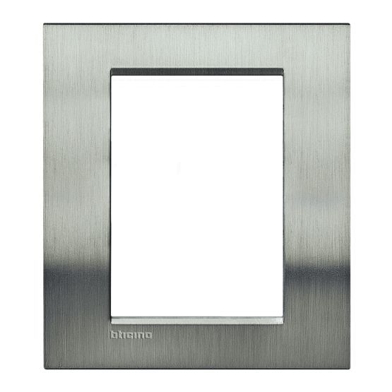 bticino rahmen lna4826acs online bestellen im ens elektronetshop. Black Bedroom Furniture Sets. Home Design Ideas