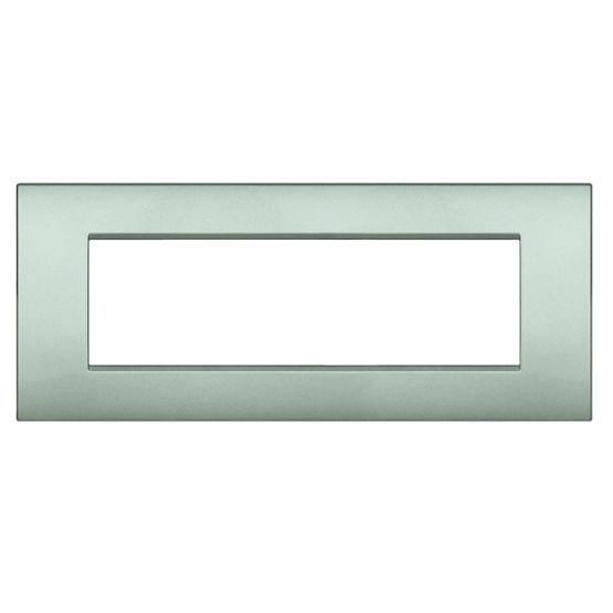 bticino rahmen lnc4807gl online bestellen im ens elektronetshop. Black Bedroom Furniture Sets. Home Design Ideas