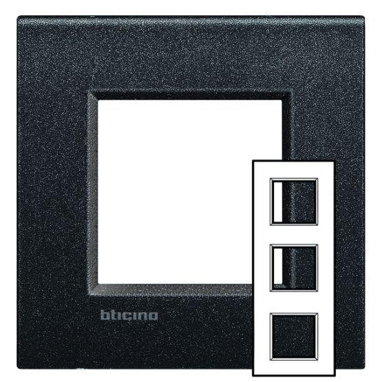 bticino rahmen lne4802m3nl online bestellen im ens elektronetshop. Black Bedroom Furniture Sets. Home Design Ideas