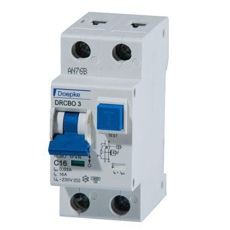 Doepke FI-/LS Kombination 09932124 Typ DRCBO 3 C16/0,03/1N-A online ...