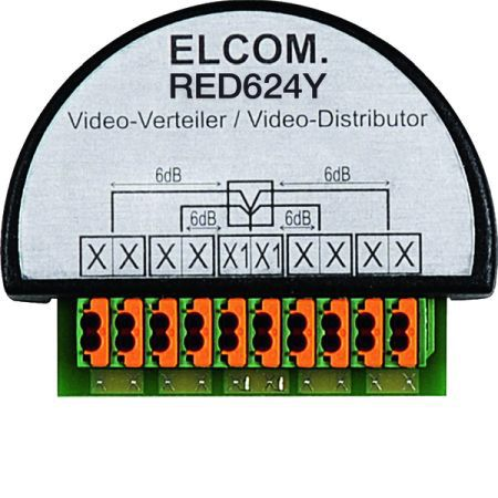 Elcom Videoverteiler RED624Y