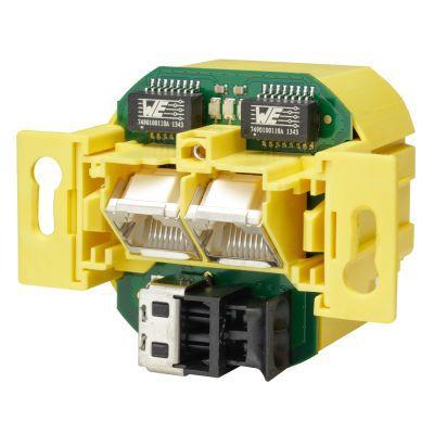 Fränkische Netzwerkanschlussdose LAN Access Point 2-Port 100 Nr. 25720121 Preisvergleich