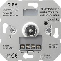 Gira Dali Potentiometer 203000