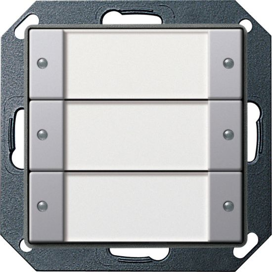 Gira 0211203 Abdeckrahmen 1fach E22 Aluminium