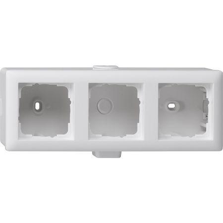 gira aufputz geh use 3fach 006327 online einkaufen im ens elektronetshop. Black Bedroom Furniture Sets. Home Design Ideas