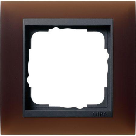 gira abdeckrahmen 1fach 021113 online bestellen im ens. Black Bedroom Furniture Sets. Home Design Ideas