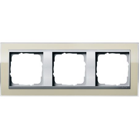 gira abdeckrahmen 3fach 0213776 online einkaufen im ens elektronetshop. Black Bedroom Furniture Sets. Home Design Ideas