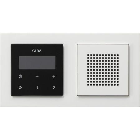 gira unterputz radio rds 049572 online kaufen im ens elektronetshop. Black Bedroom Furniture Sets. Home Design Ideas
