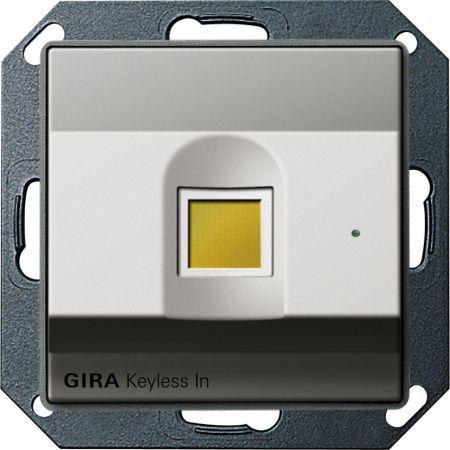 gira keyless fingerprint 260720 online bestellen im ens elektronetshop. Black Bedroom Furniture Sets. Home Design Ideas
