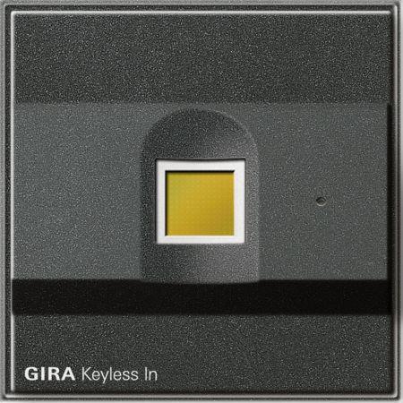 gira keyless fingerprint 260767 online einkaufen im ens. Black Bedroom Furniture Sets. Home Design Ideas
