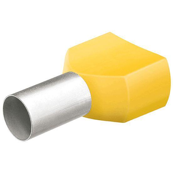 KNIPEX 97 99 336 Aderendhülsen mit Kunststoffkragen je 100 Stück 120 mm