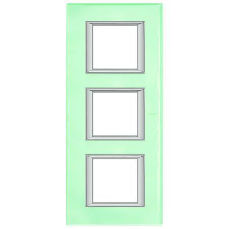 bticino rahmen ha4802 2vka online bestellen im ens elektronetshop. Black Bedroom Furniture Sets. Home Design Ideas