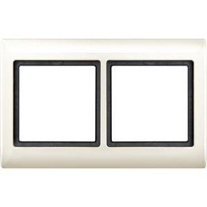merten rahmen 2fach 400244 online kaufen im ens elektronetshop. Black Bedroom Furniture Sets. Home Design Ideas