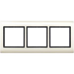 merten rahmen 3fach 400344 online bestellen im ens elektronetshop. Black Bedroom Furniture Sets. Home Design Ideas