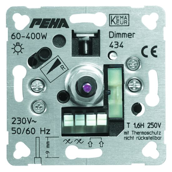 Peha Phasenabschnittdimmer D 434 O.A. Nr. 00208013