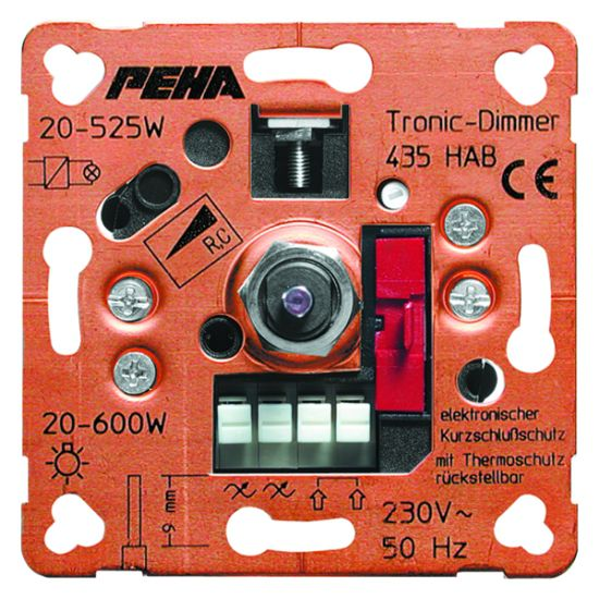 Peha Phasenabschnittdimmer D 435 HAB O.A. Nr. 00217113
