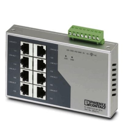 Phoenix Contact Industrial Ethernet Switch 2832771 Typ FL SWITCH SF 8TX