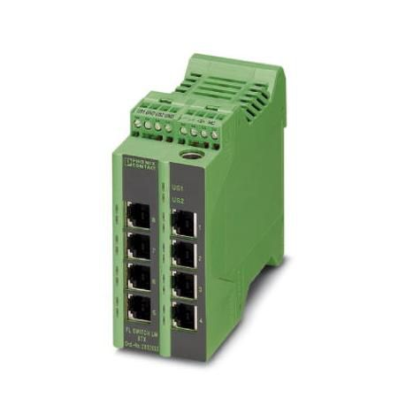 Phoenix Contact Industrial Ethernet Switch 2989446 Typ FL SWITCH LM 8TX-B