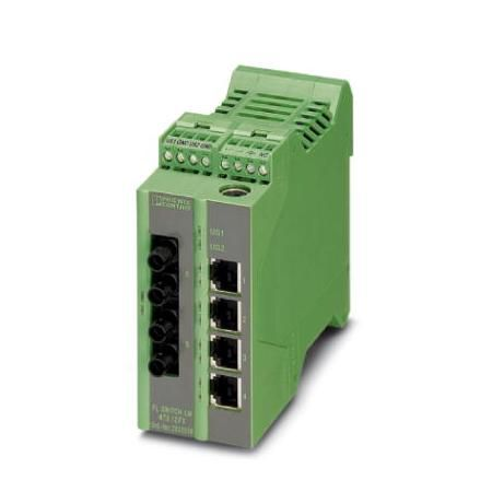 Phoenix Contact Industrial Ethernet Switch 2989239 Typ FL SWITCH LM 4TX/2FX SM ST