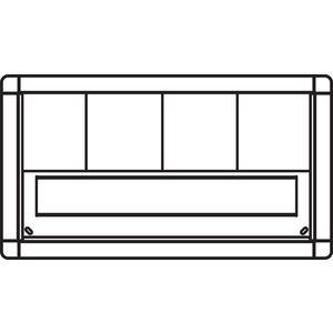 ritto briefkastenrahmen 1885299 online kaufen im ens elektronetshop. Black Bedroom Furniture Sets. Home Design Ideas