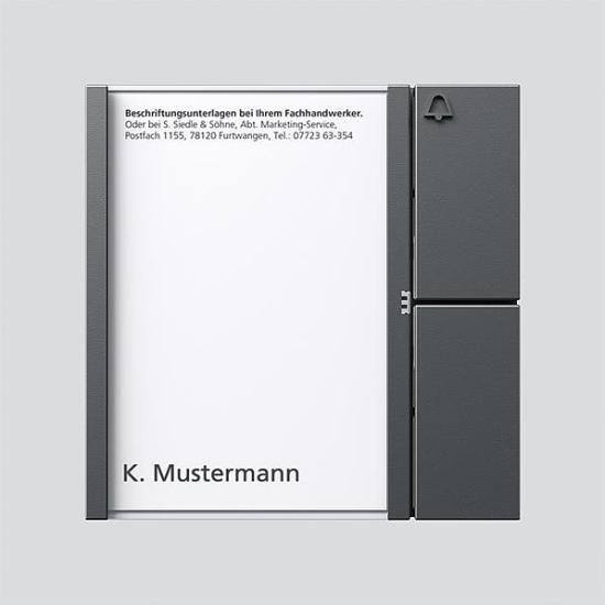 Siedle Tastenmodul 200038753-00 Typ TM 612-1 DG Preisvergleich
