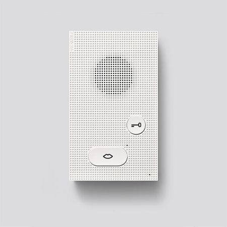 siedle audio innenstation 200049080 01 typ aib 150 01 im. Black Bedroom Furniture Sets. Home Design Ideas