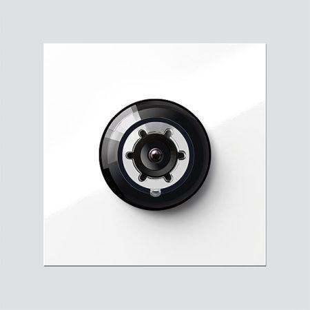 siedle systemfreie kamera 200048281 01 typ cm 613 01 wh online kaufen im ens elektronetshop. Black Bedroom Furniture Sets. Home Design Ideas