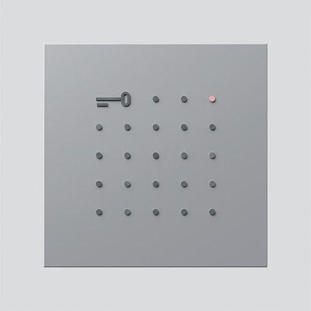 siedle blendrahmen 210006027 00 typ elm 611 sm online kaufen im ens elektronetshop. Black Bedroom Furniture Sets. Home Design Ideas