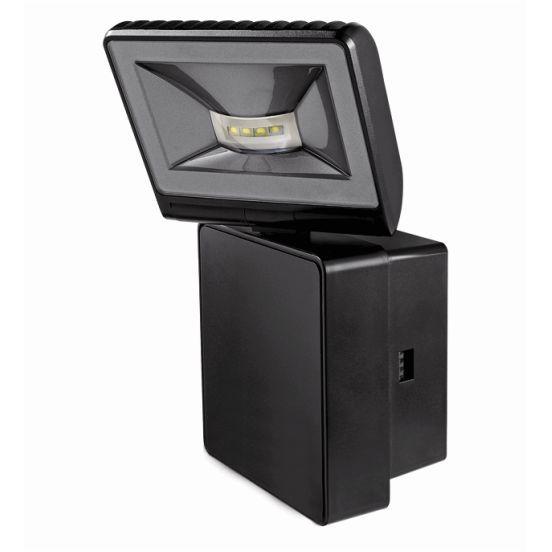 theben led strahler 1020752 typ luxa 102 fl led 8w w bk online shop im ens elektronetshop. Black Bedroom Furniture Sets. Home Design Ideas