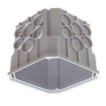 theben up abzweigdose 9070689 typ up dose 115 x 115 x 100. Black Bedroom Furniture Sets. Home Design Ideas