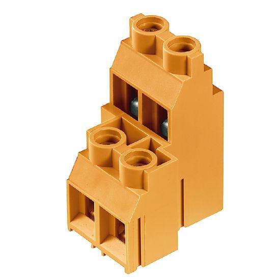 Weidmüller Leiterplattenklemme 1926360000 Typ LL2N 9.52/08/90 5.0SN OR BX Preisvergleich