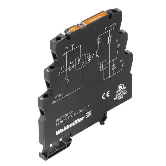 Weidmüller Solid State Relais 8937920000 Typ MOS 5VTTL/24VDC 0,1A